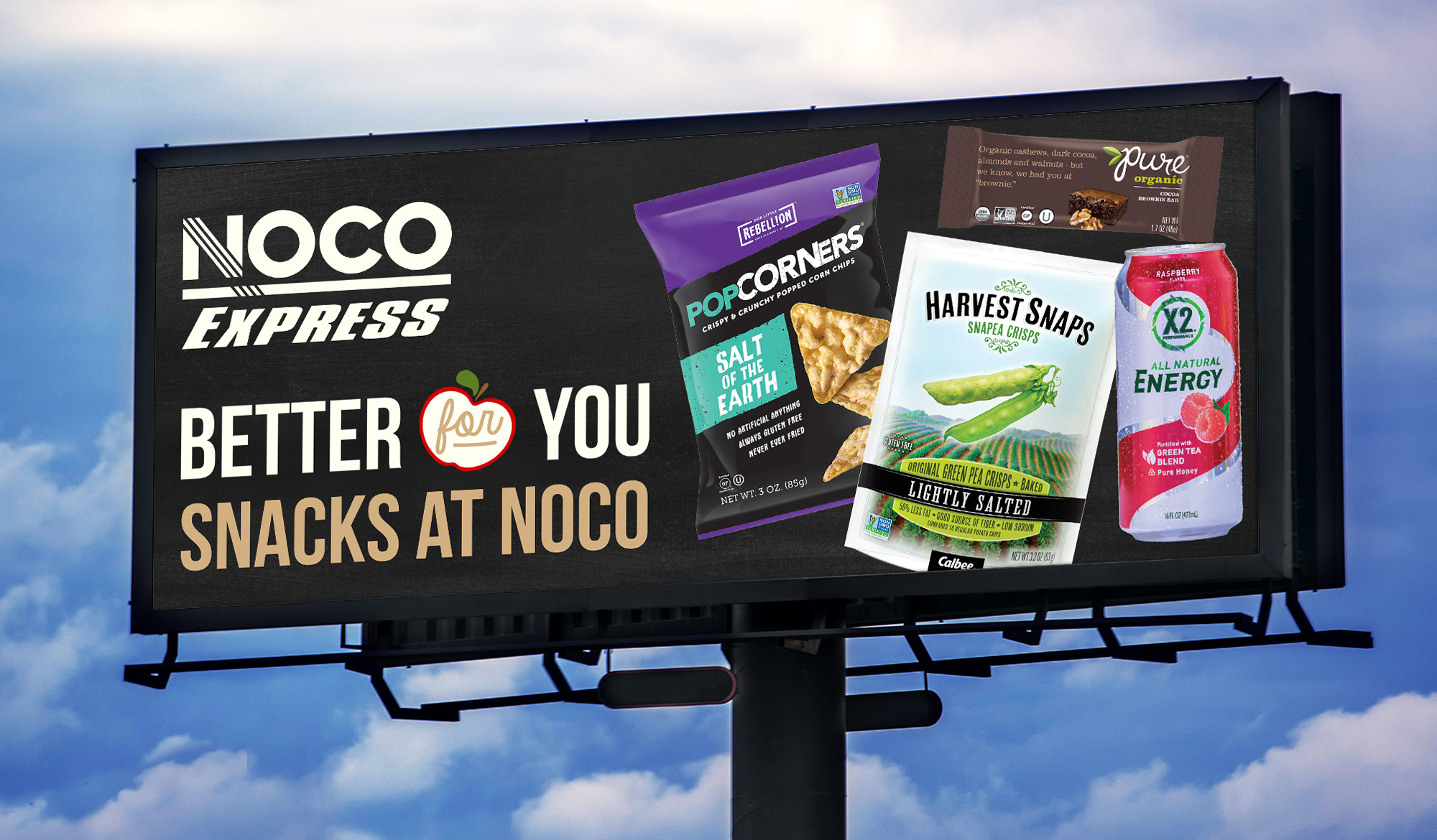Better for You Snacks Billboard