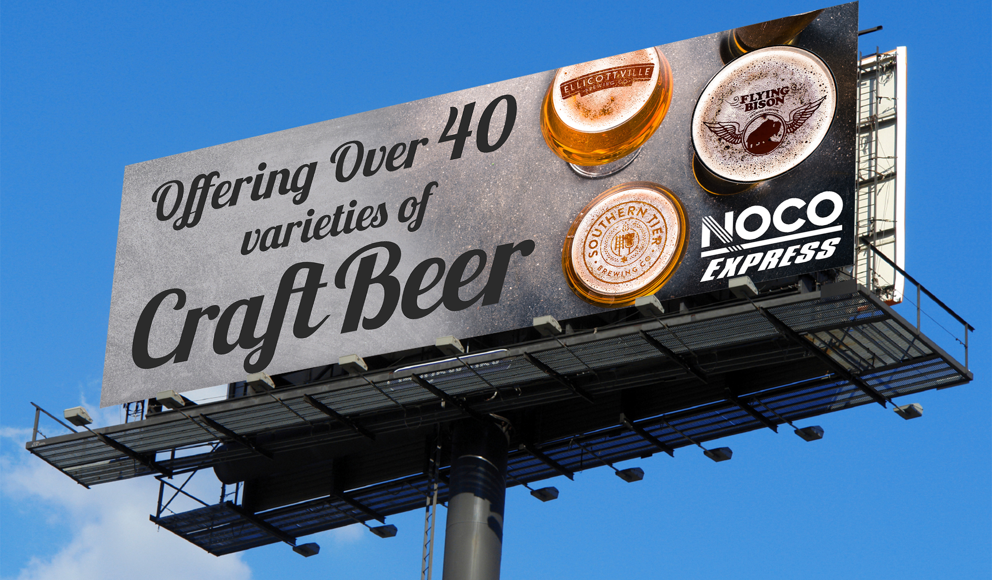 Craft Beer Billboard