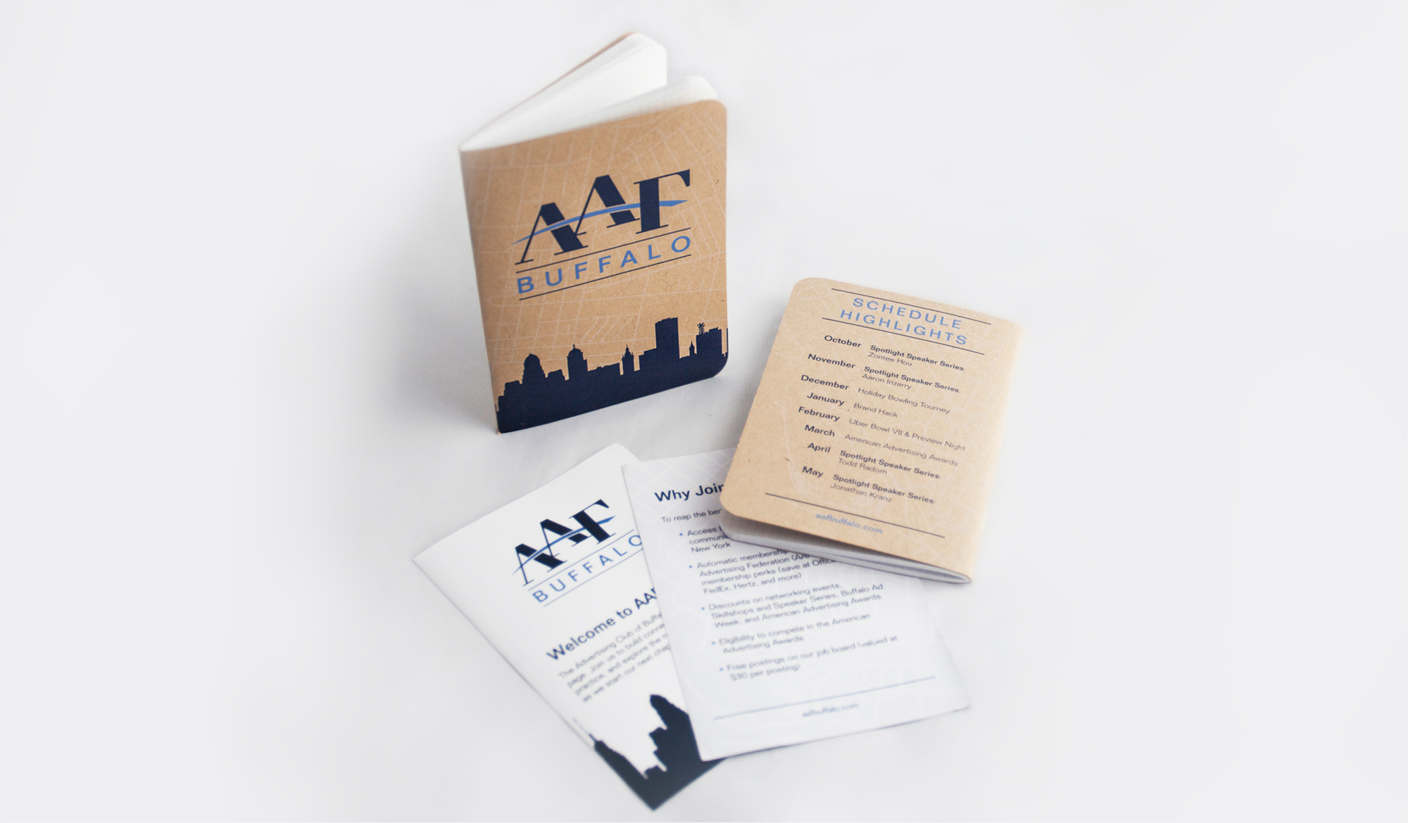 AAF Buffalo Notebook and Insert