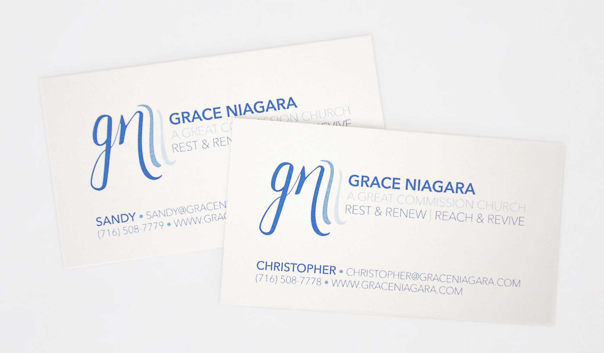 Grace Niagara Business Cards